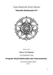 Memilih Multimedia PC - Kontak UGM - Universitas Gadjah Mada