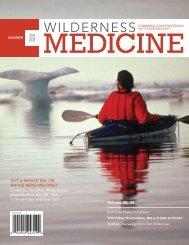 Summer, 2008 - Wilderness Medical Society