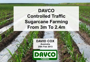 Dave Cox, Davco Farming, Queensland - ACTFA