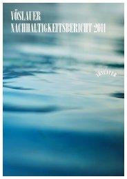 Download Vöslauer Nachhaltigkeitsbericht 2011