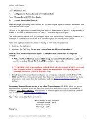 ANNUAL RENEWAL FOR SPONSORSHIP FORM - Hunter Ambulance