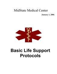 Basic Life Support Protocols - Hunter Ambulance