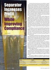 Separator Increases Profit While Improving Compliance - Harmony