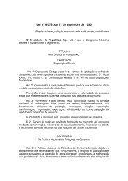 Código de Defesa do Consumidor - Procon