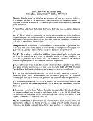 Lei 17.107 de 17 de Abril de 2012 Publicado no Diário ... - Procon