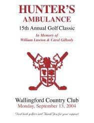 Wallingford Country Club - Hunter Ambulance