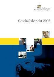 download des Geschäftsberichtes 2005 als pdf - Fachschule für ...