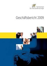 download des Geschäftsberichtes 2009 als pdf - Fachschule für ...