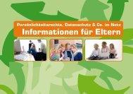 Persönlichkeitsrechte, Datenschutz & Co. im Netz - Webhelm