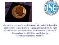 Â«In order to honour the late Professor Alexander ... - elch.chem.msu.ru