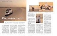Abu Dhabi: Die Wüste bebt! - Fabian von Poser