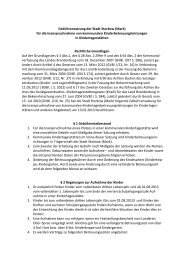 Gebührensatzung für die Inanspruchnahme von kommunalen ...