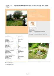 Bauernhof - Romantisches Bauernhaus, Scheune, Stall und vieles ...