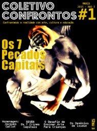Revista Coletivo Confrontos #1 - Os 7 pecados Capitais!