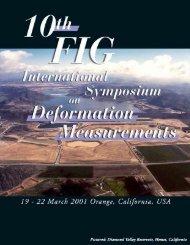 10th FIG International Symposium on Deformation Measurements