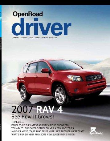 2007 RAV 4 - OpenRoad Driver