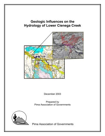 Geologic Influences on the Hydrology of Lower Cienega Creek