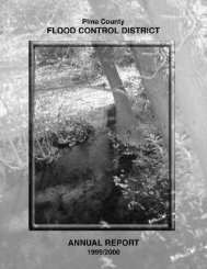 FY 1999-2000 - Pima County Flood Control District