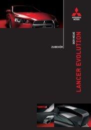 LANCER EVOLUTION - Mitsubishi
