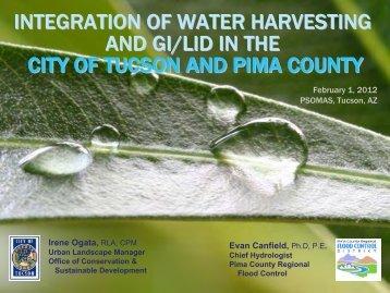 Inspiration Rain - Pima County Flood Control District