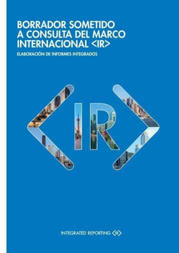 borrador sometido a consulta del marco internacional  - The IIRC