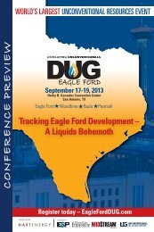 Printable Conference Preview - DUG Eagle Ford