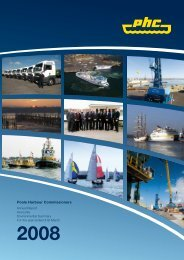 Notes to the accounts - Poole Harbour Commissioners