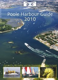 Poole Harbour Guide 2010 - Poole Harbour Commissioners