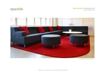 modular sofa | catalogue 2013 - Spaceist.co.uk