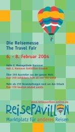 Die Reisemesse The Travel Fair 6. - 8. Februar ... - Kanu Basis Mirow