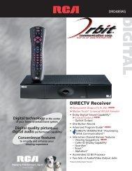 View/Print Product Spec Sheet - Orbit Communication Corp