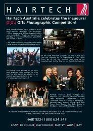 Hairtech Australia celebrates the inaugural Offs ... - ATS Hair Studio