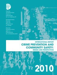 crime prevention and community safety - International Centre for the ...