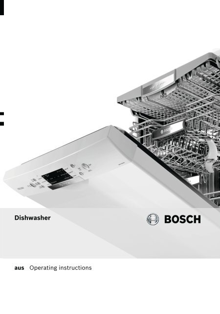 Bosch Sms63m18au User Manual Download Electro Seconds