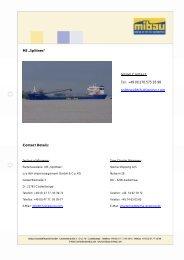 "MS ""Splittnes"" - HJH Shipmanagement GmbH + Co. KG"