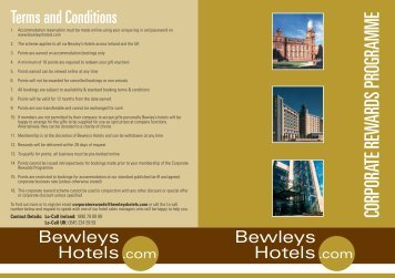 2 - Bewley's Hotels