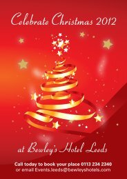 CelebrateChristmas 2012 - Bewley's Hotels