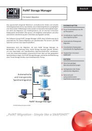 PSM Migration - PoINT Software & Systems GmbH