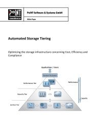 Automated Storage Tiering - PoINT