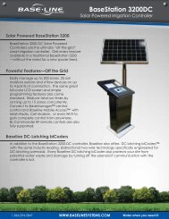 BaseStation 3200DC Brochure - Baseline Systems
