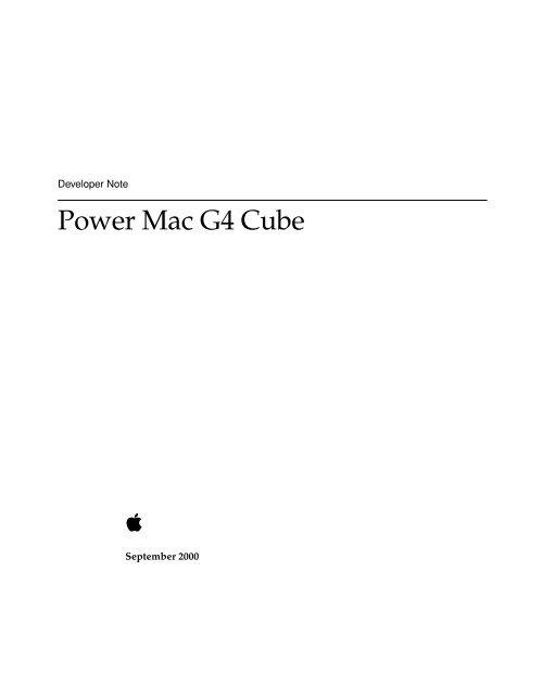 Power Mac G4 Cube - PowerPC hu