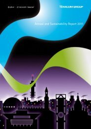 Annual and Sustainability Report 2011 - Teracom