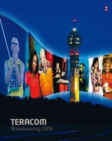 Årsredovisning 2008 - Teracom