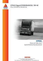 CITGO 5W-40 Heavy Duty Syndurance Product ... - Ulei de motor