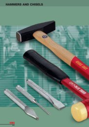 HAMMERS AND CHISELS