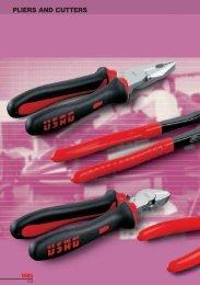 Red//Grey VBW 526005 Polished Telephone Plier