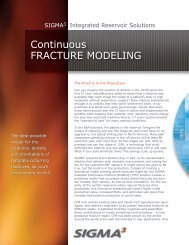 Continuous FRACTuRe ModelInG - Sigmacubed.com