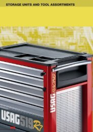 STORAGE UNITS AND TOOL ASSORTMENTS