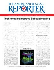 Technologies Improve Subsalt Imaging - Barcelona Supercomputing ...