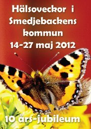 Program 20120328 - Smedjebackens kommun